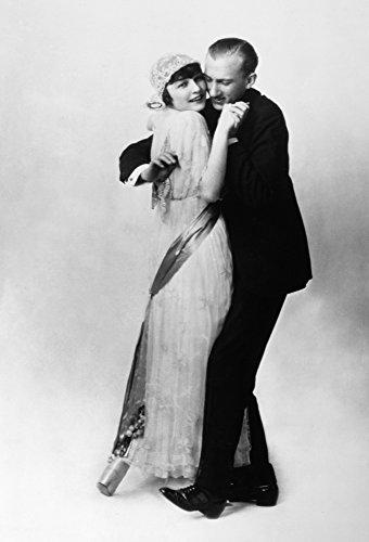 Irene And Vernon Castle Namerican Ballroom Dancers Photographed Dancing The Bunny Hug C1915 Poster Print by (24 x 36)