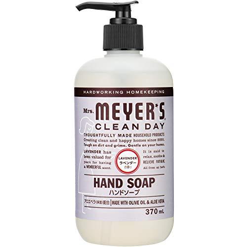 変更可能進化年Mrs. MEYER'S CLEAN DAY(ミセスマイヤーズ クリーンデイ) ミセスマイヤーズ クリーンデイ(Mrs.Meyers Clean Day) ハンドソープ ラベンダーの香り 370ml