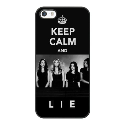 Coque,Coque iphone 5 5S SE Case Coque, Pretty Little Liars Theme Song Cover For Coque iphone 5 5S SE Cell Phone Case Cover Noir