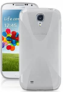 "Galaxy S4 GT-i9500 / i9505 - Transparente Case Cover TPU Gel ""X-Style"" - Premium Selection HQ®"