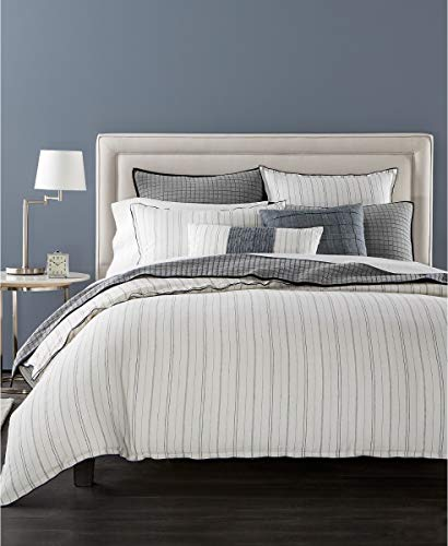Amazon Com Hotel Collection Linen Ticking Stripe King