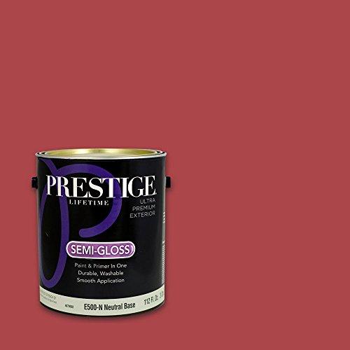 Prestige Exterior Paint and Primer In One, 1-Gallon, Semi...
