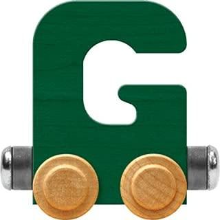 product image for Maple Landmark NameTrain Bright Letter Car G - Made in USA (Green)