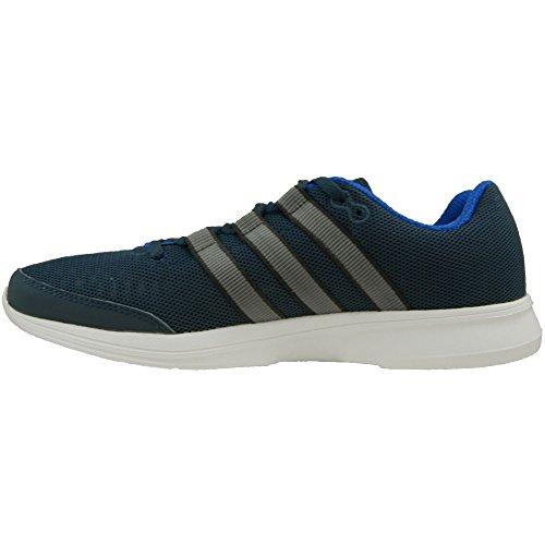 Adidas Lite Runner M - Af6600 Gris-blanc-bleu Marine