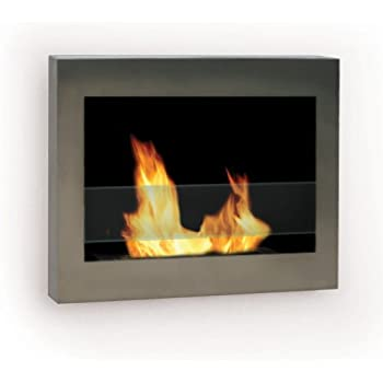 Amazon Com Sei Contemporary Wall Mount Gel Fuel Fireplace