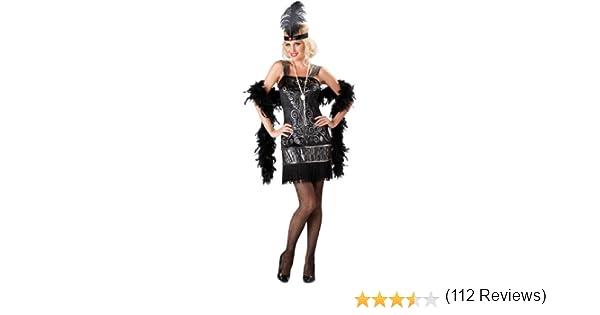 Disfraz Charlestón mujer- Premium L: Amazon.es: Juguetes y juegos