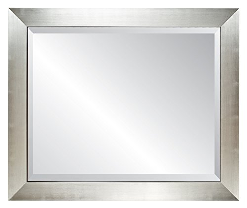 Alpine Mirror & Art Silverstone Beveled Glass Wall Mirror (Alpine Mirror)