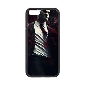 Hitman Absolution 16 funda iPhone 6 4.7 Inch caja funda del teléfono celular del teléfono celular negro cubierta de la caja funda EEECBCAAG16707