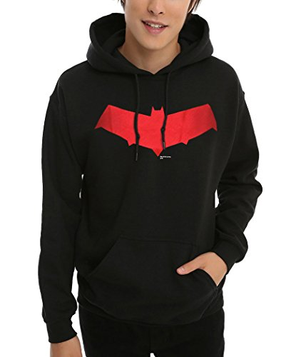 Hood Apparel - Animation Shops Batman Red Hood Symbol Hoodie-Medium