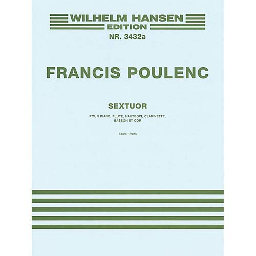 Sextet Music Sales America Series by Francis Poulenc