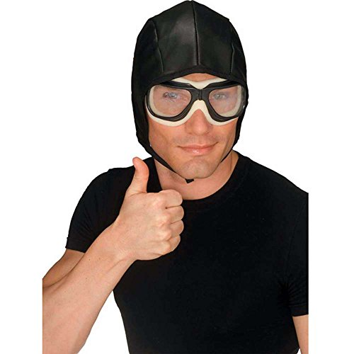 Aviator Helmet Goggles Set Adult