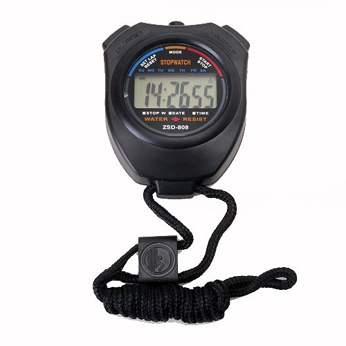 Tutoy Chronograph Digital Timer Stopwatch Counter Wristwatch