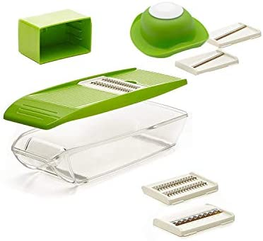 Amazoncom Mandolin Slicer Shule Vegetable Slicer With 5