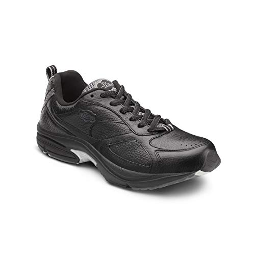 Dr. Comfort Winner Plus Men's Therapeutic Diabetic Extra Depth Shoe: Black 11.5 Wide - Gym Winners