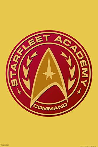 Tng Poster - Pyramid America Star Trek Starfeet Academy Command Poster 12x18 inch