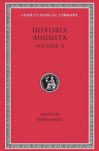 Scriptores Historiae  Loeb Classical Library