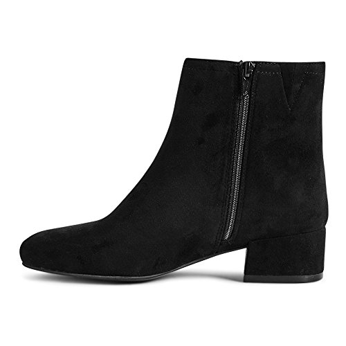 Outlet 39 London The Mujer Negro Color Botas Estilo Talla Motero Zq47WO6dw4