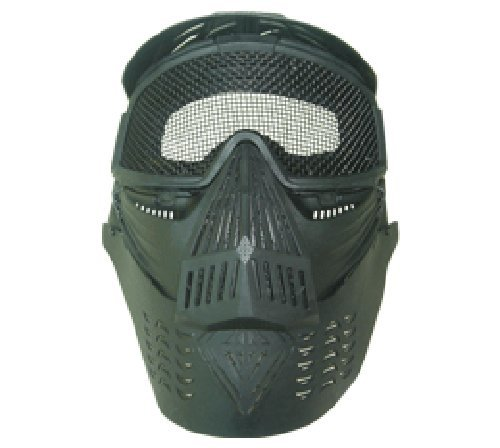 Airsoft Full Face Mask with Neck Protection