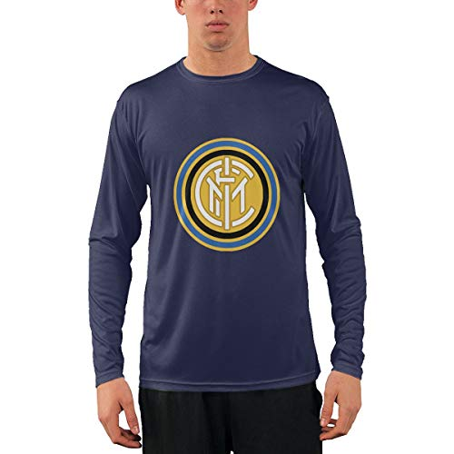 Logo of FC Inter Milan 1963-1979 Long Sleeve T-Shirt with Round Collar for Mens