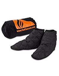 Genuine Foot Furnace Luxury Bed Slipper. No More Cold Feet in Bed! A Non-powered Solution for People Suffering from Cold Feet in Bed. Perfect for Diabetics or Those Looking for Comfort from Raynaud's.