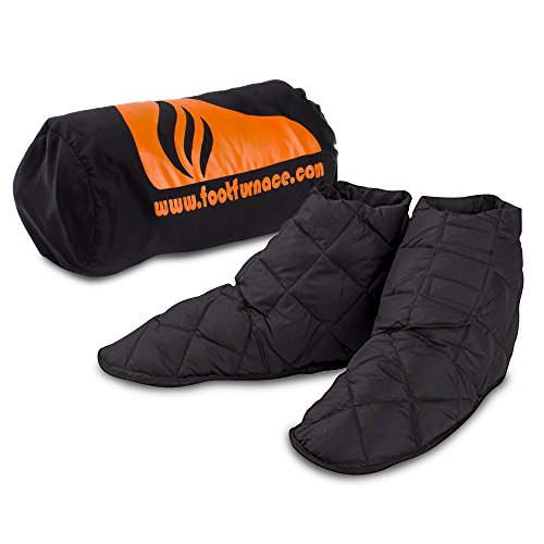 Bed Foot Warmer - Genuine Foot Furnace Luxury Bed Slipper. No More Cold Feet in Bed! A Non-powered Solution for People Suffering from Cold Feet in Bed. Perfect for Diabetics or Those Looking for Comfort from Raynaud's.