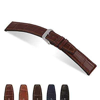 RIOS1931 Spitfire - Genuine Alligator Watch Band for IWC Watches 114x74 from Panatime