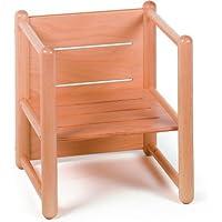 3 Way Multi Purpose Children's Chair Beech Wood Timber Child Kids Chair