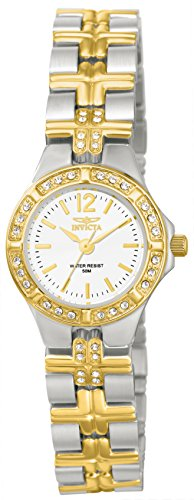 Invicta Women's 0127 Wildflower Collection Crystal Accented Stainless Steel (Invicta Crystal Wrist Watch)