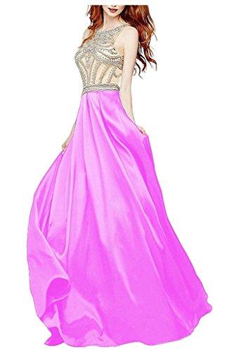 Ysmo - Vestido - trapecio - para mujer Lilac