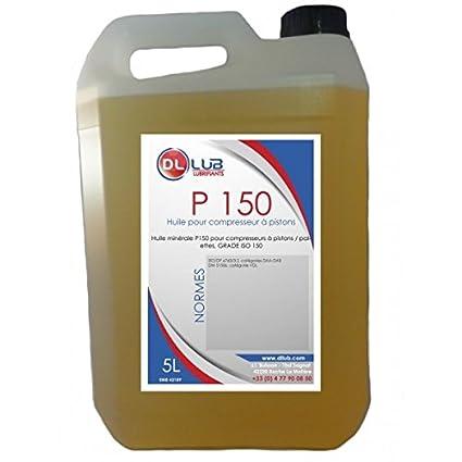 dllub - Aceite mineral compresor P 150 - 5 litros: Amazon.es ...