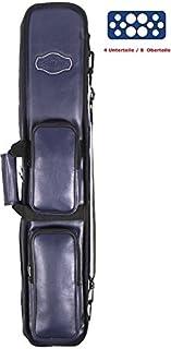 Stecca da biliardo della Buffalo per 4unterteile/8involucro colore blu Winsport