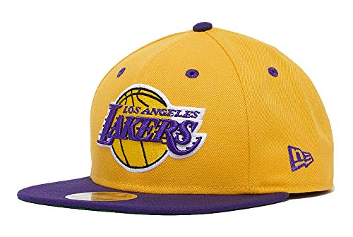 A NEW ERA Gorras LA Lakers 9Fifty of 2-Tone Yellow/Purple Snapback ...