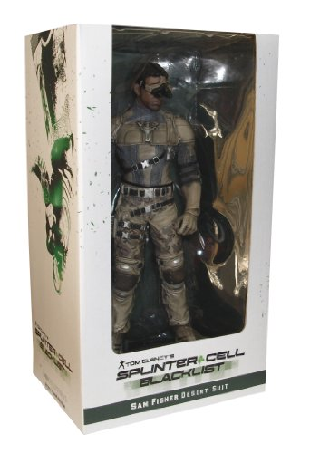 Tom Clancy's Splinter Cell Blacklist Figurine - Sam Fisher: Desert Suit (Action Figure)