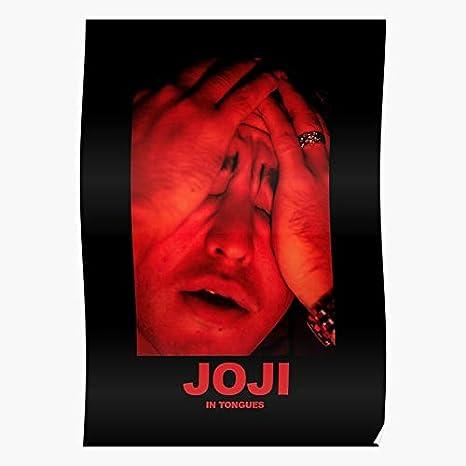"Joji /""In Tongues/"" Art Music Album Poster HD Print 12/"" 16/"" 20/"" 24/"" Sizes"