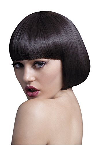 Fever Women's Short Brown Bob Wig with Bangs, 10inch, One Size]()