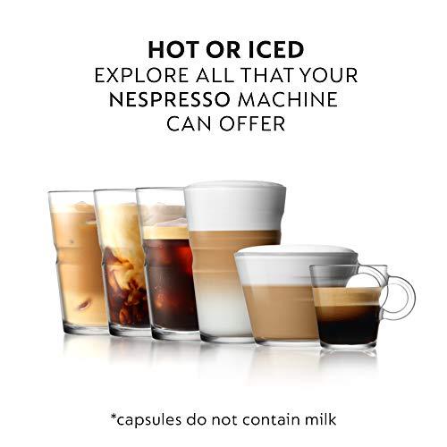 Nespresso Capsules OriginalLine, Ispirazione Variety Pack, Medium & Dark Roast Espresso Coffee, 50 Count Espresso Coffee Pods, Brews 1.35 Ounce