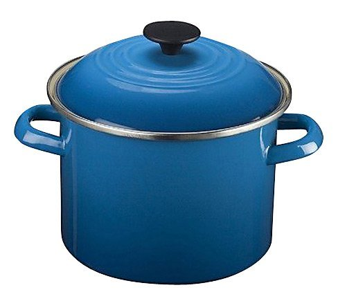 Marseille 24 Light - Le Creuset Enamel-on-Steel 8-Quart Stock Pot with Lid, Marseille