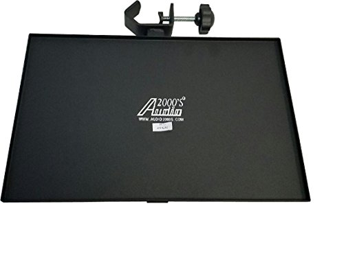 (Audio2000'S AST424Z Tray for Flat Panel TV/Monitor Stand or Speaker Stand)