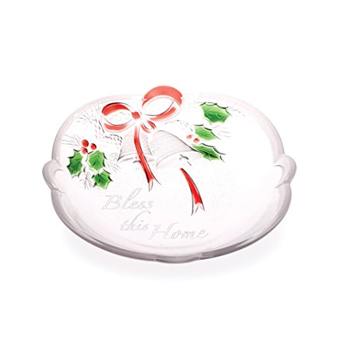 Candy Dish Bell (Celebrations by Mikasa Holiday Bells 'Bless this Home' Sweet Dish, 7-Inch)