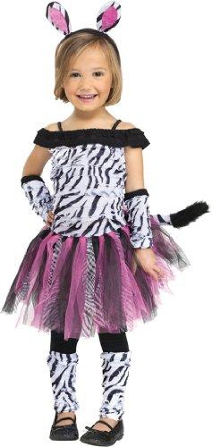 Halloween FX Zebra Tdlr Lg 3T-4T -