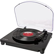 ION Audio Classic LP | 3-Speed USB Conversion Turntable for Mac & PC with Hinged Dust-Cover