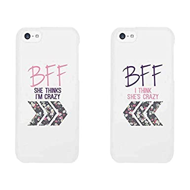 best friends phone cases bff floral phone covers for iphone 4