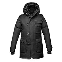 Nobis The Shelby Insulated Parka Hooded Down Coat - Mens