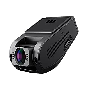 AUKEY 1080p Dash Cam with 6-Lane 170° Wide-Angle Lens, Dashboard Camera Recorder with G-Sensor, WDR, Loop Recording and Night Vision
