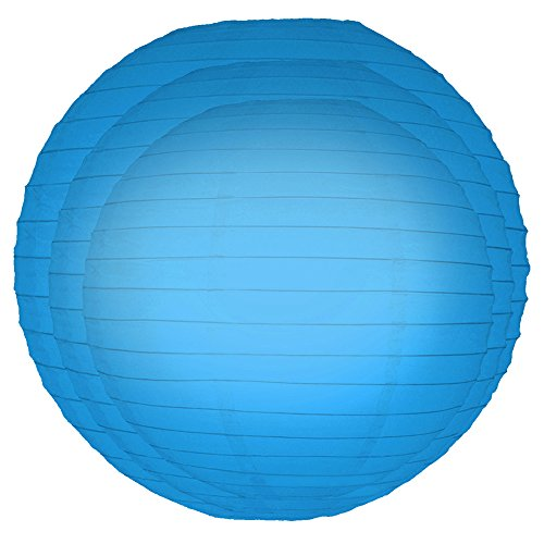 Lumabase Wedding Birthday Party Decor Round Paper Lantern 12