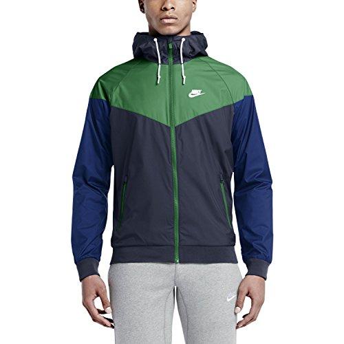 Windrunner vert Veste Homme M blanc Noir Nsw Pour Nike gqEZSS