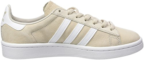 Adidas BROWN CLEAR CRYSTAL WHITE Sneakers Campus WHITE Natural Womens rOwXrqA
