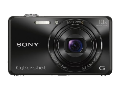 Sony DSCWX220/B 18.2 MP Digital Camera with 2.7-Inch LCD (Black) (Best 10x Zoom Compact Digital Cameras)