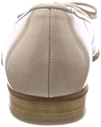 Pumps Balletto Gabor In Pelle Bianco / Sabbia