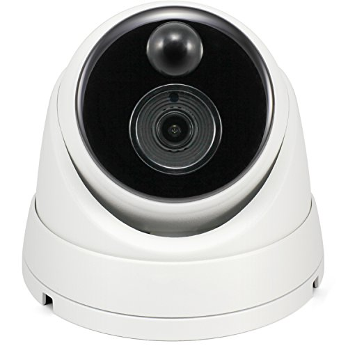(Swann 5MP Dome DVR Security Camera with Heat & Motion Sensing + Night Vision)